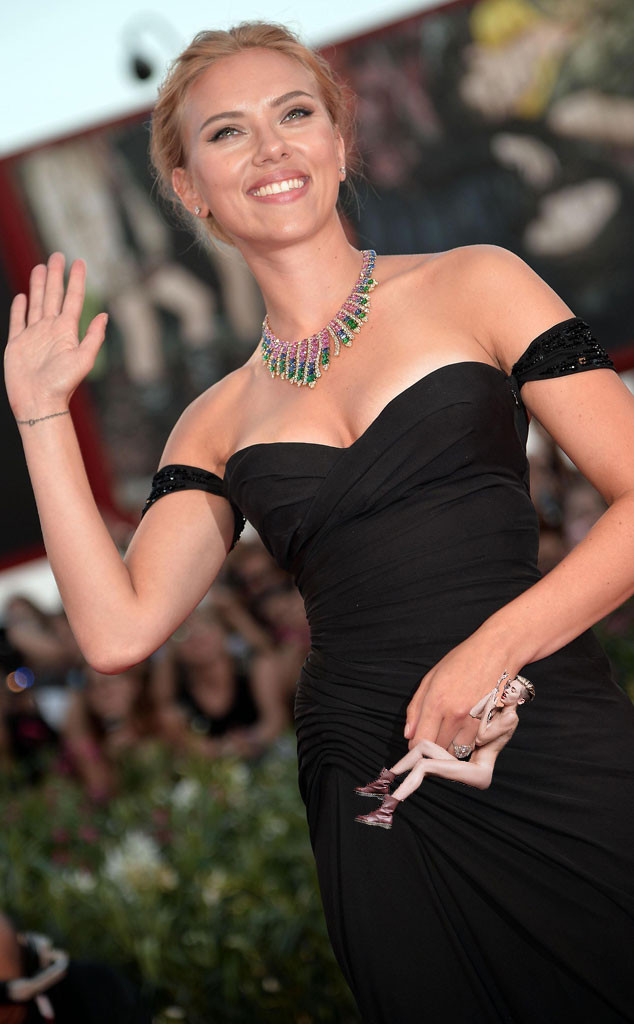 Miley Cyrus, Wrecking Ball Meme, Scarlett Johansson