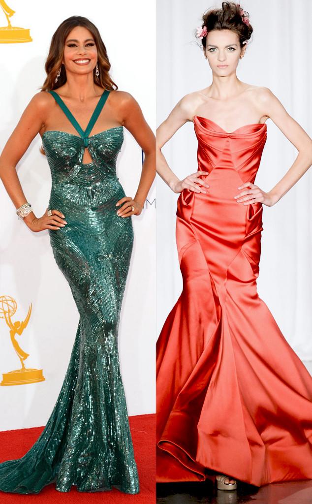 Emmy Awards, Sofia Vergara, Zac Posen