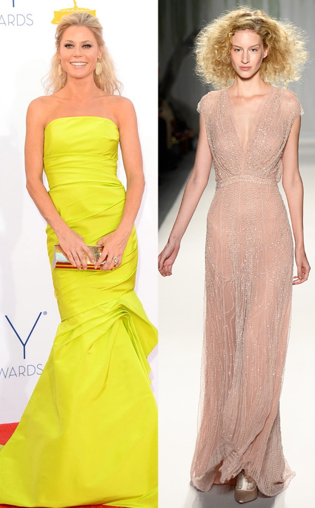 Emmy Awards, Julie Bowen, Jenny Packham
