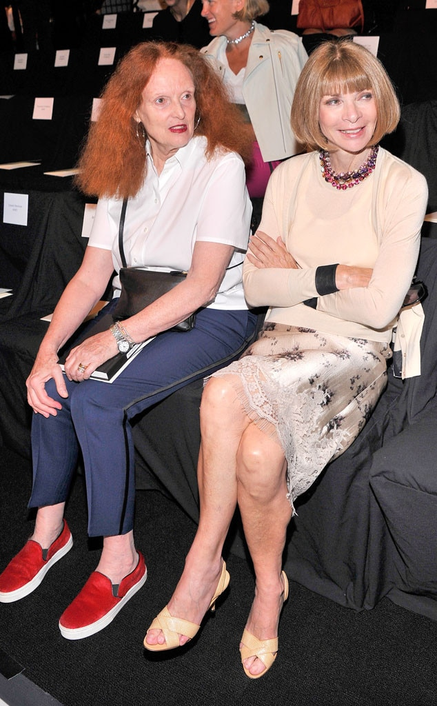 Grace Coddington, Anna Wintour