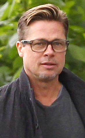 Brad Pitt's Short New Haircut Is Super Sexy—See the Close ...
