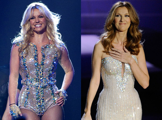 Britney Spears, Celine Dion