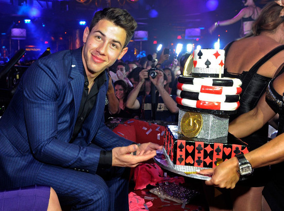 Nick Jonas 21st Birthday, Botero, XS