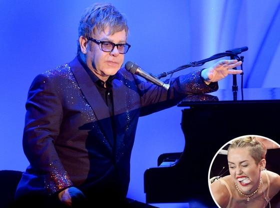 Elton John, Miley Cyrus