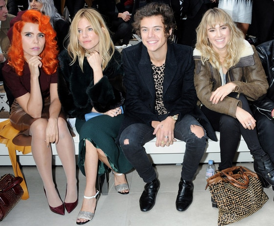 Paloma Faith, Sienna Miller, Harry Styles, Suki Waterhouse, London Fashion Week