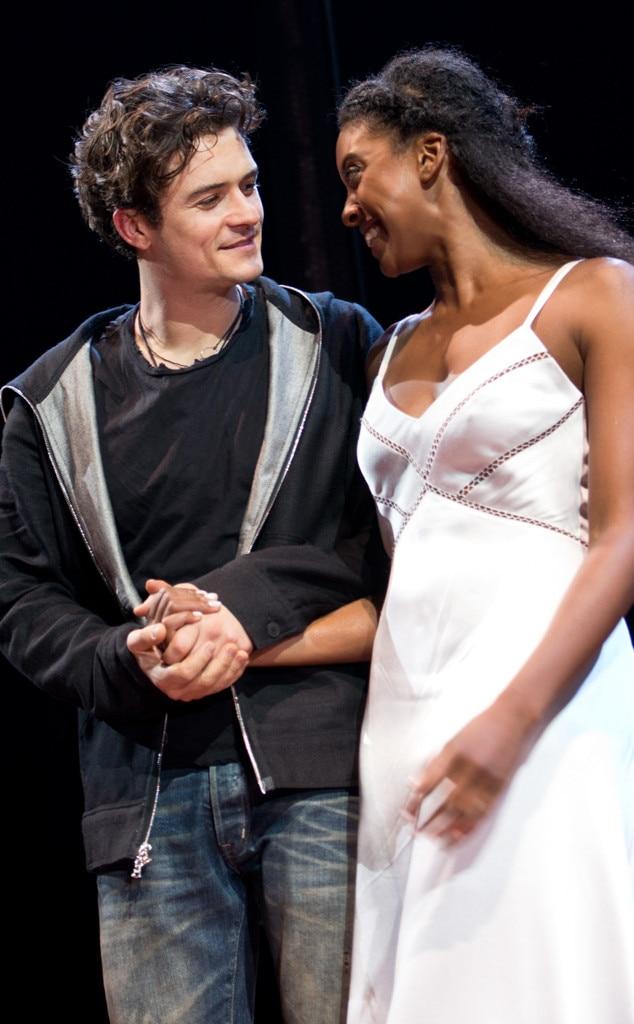 Orlando Bloom, Condola Rashad, Romeo and Juliet