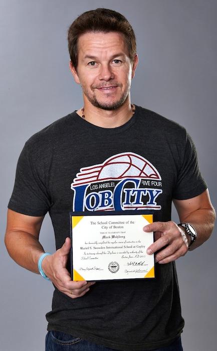Mark Wahlberg, Diploma