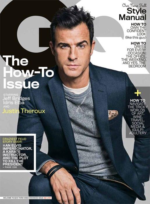 Justin Theroux, GQ Magazine