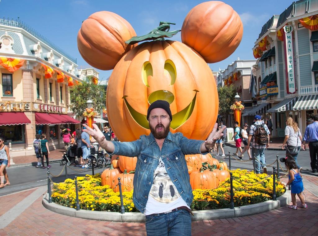 Aaron Paul, Lauren Parsekian, Disneyland