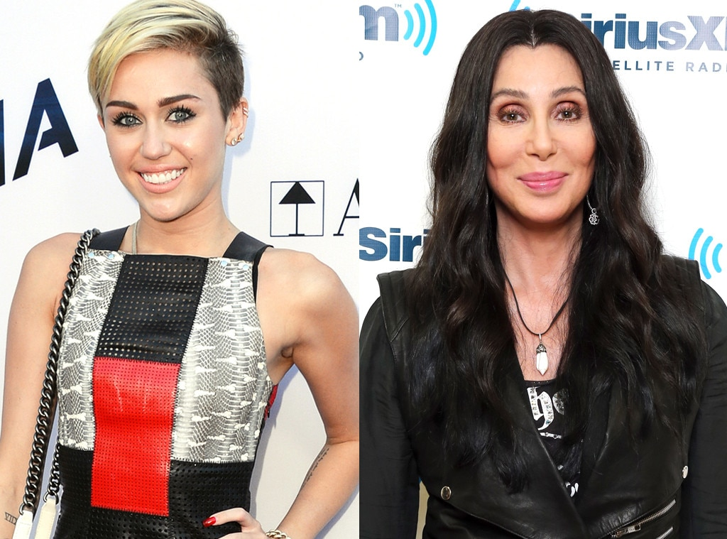 Miley Cyrus, Cher
