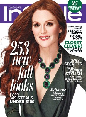 Julianne Moore, InStyle Magazine