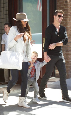 Paula Patton, Robin Thicke, Julian