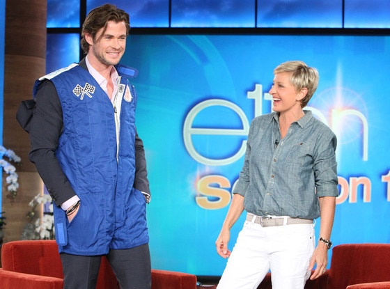 Chris Hemsworth, The Ellen DeGeneres Show