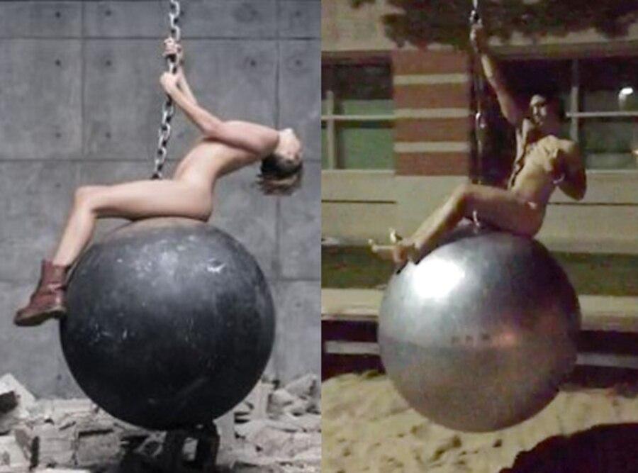 Miley Cyrus, Wrecking Ball, Niko Pilalis