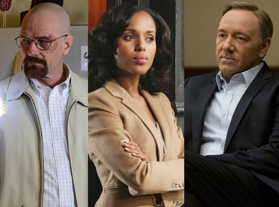 Breaking Bad, Scandal, House of Cards, Drama Emmy Picks
