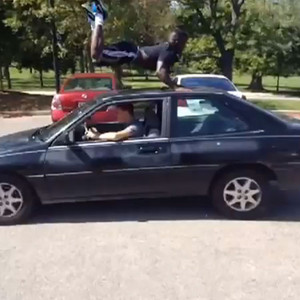 Guy Gets Hit By A Car Vine