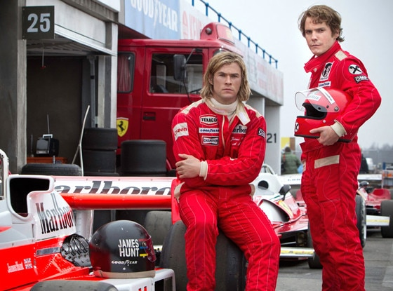Rush, Chris Hemsworth, Daniel Bruhl
