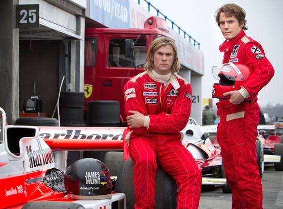 Rush, Chris Hemsworth, Daniel Bruhl