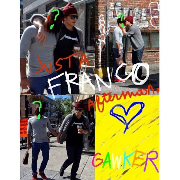 James Franco, Instagram