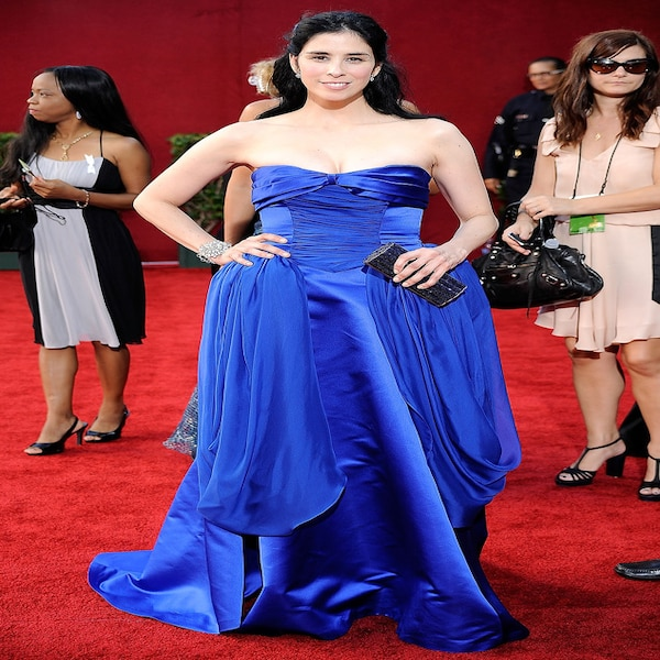 Sarah Silverman from Worst Dressed Stars Ever at the Emmys ...