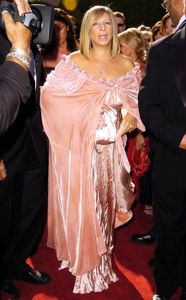 Barbra Streisand, Emmys Worst Dressed