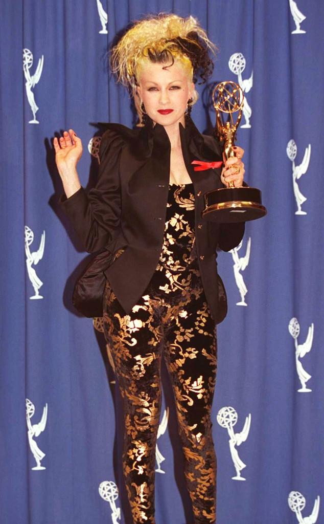 Cyndi Lauper, Emmys Worst Dressed