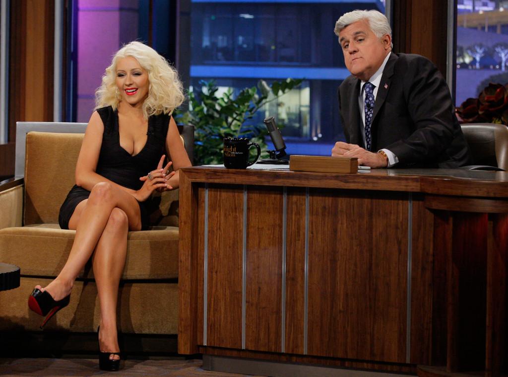Christina Aguilera, The Tonight Show with Jay Leno
