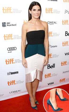 Sandra Bullock, Spiked Heels