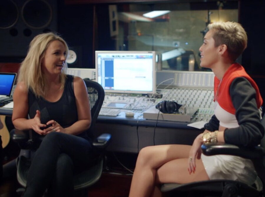 Britney Spears, Miley Cyrus, The Miley Movement