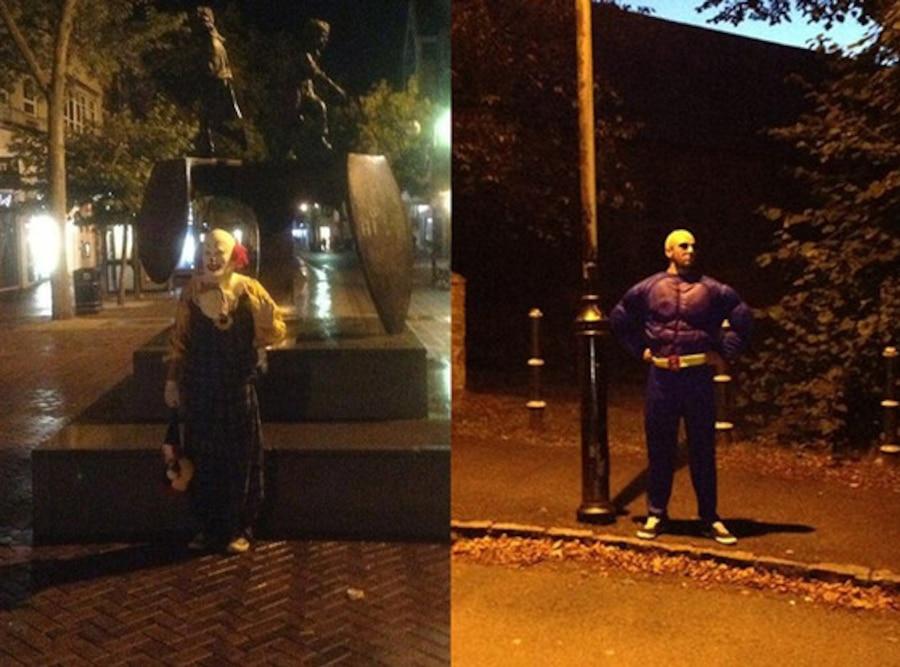 Spot Northampton's Clown, Facebook
