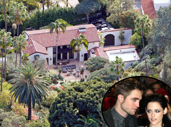 Robert Pattinson Kristen Home House