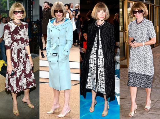 Anna Wintour, Shoes, Manolo Blahnik