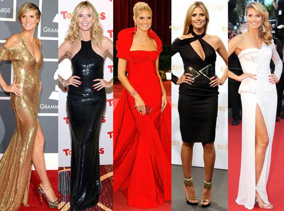 Heidi Klum Best Looks