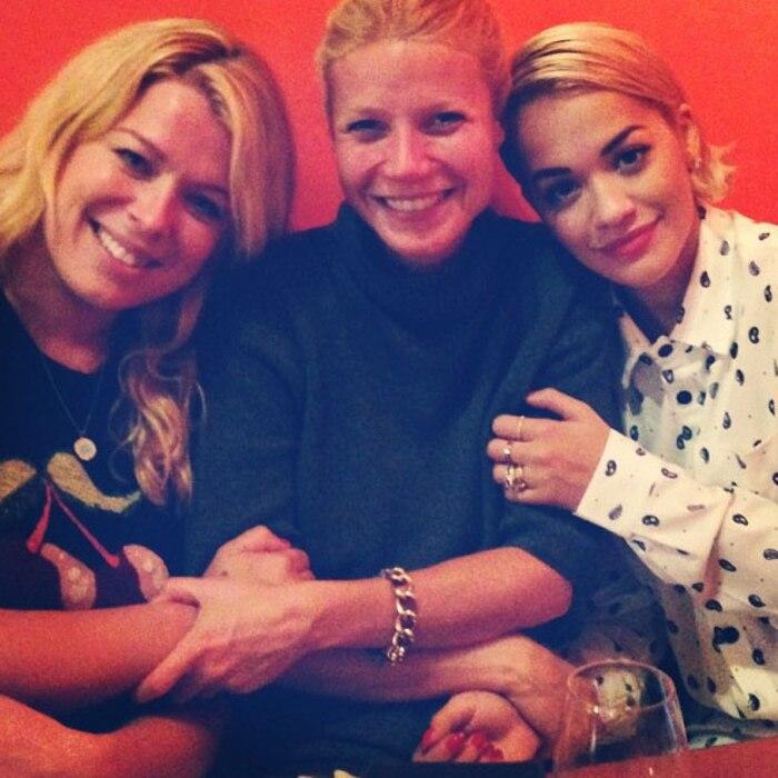 Amanda de cadenet, Rita Ora, Gwyneth Paltrow Instagram