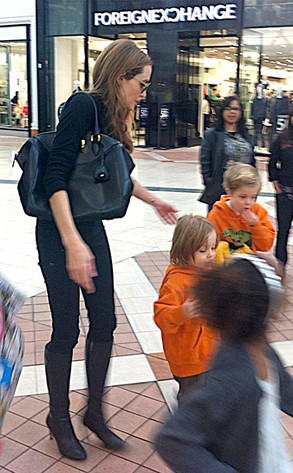 Twins Auto Mall >> Angelina Jolie Steps Out With Pax, Vivienne and Knox—See the Pics! | E! News