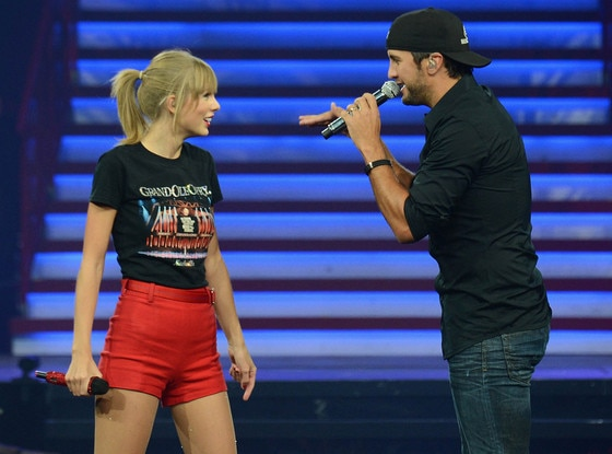 Taylor Swift, Luke Bryant
