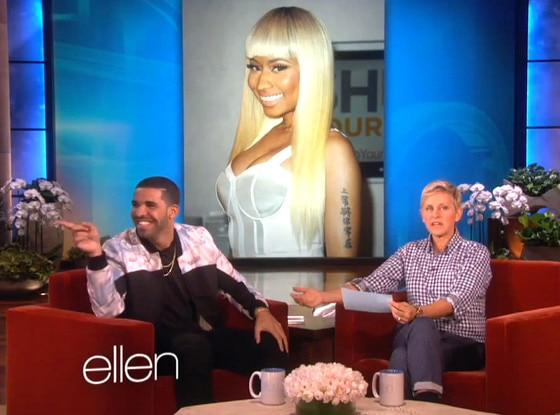 drake on ellen dating Lady bird star saoirse ronan was very bad at playing ellen's matchmaker game, but she did reveal a crush on drake.