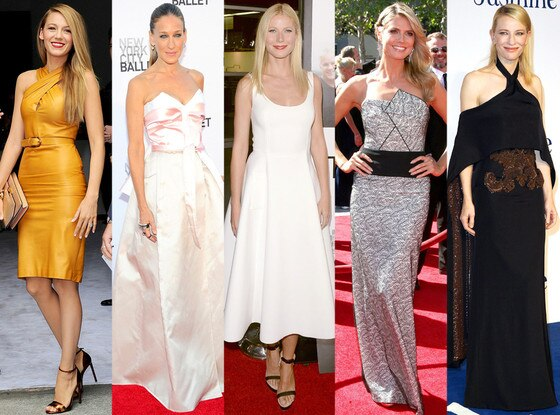 Blake Lively, Sarah Jessica Parker, Gwyneth Paltrow, Heidi Klum, Cate Blanchett