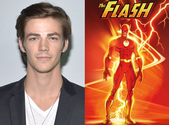 The flash speaks arrow 39 s grant gustin teases spandex for Disegni di flash