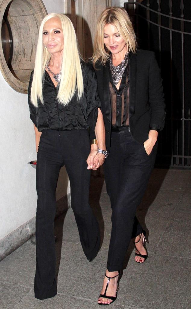 Kate Moss, Donatella Versace