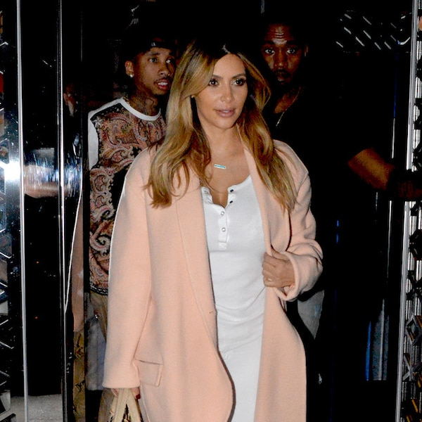 La Vie En Rose From Le Style Post Grossesse De Kim Kardashian E News
