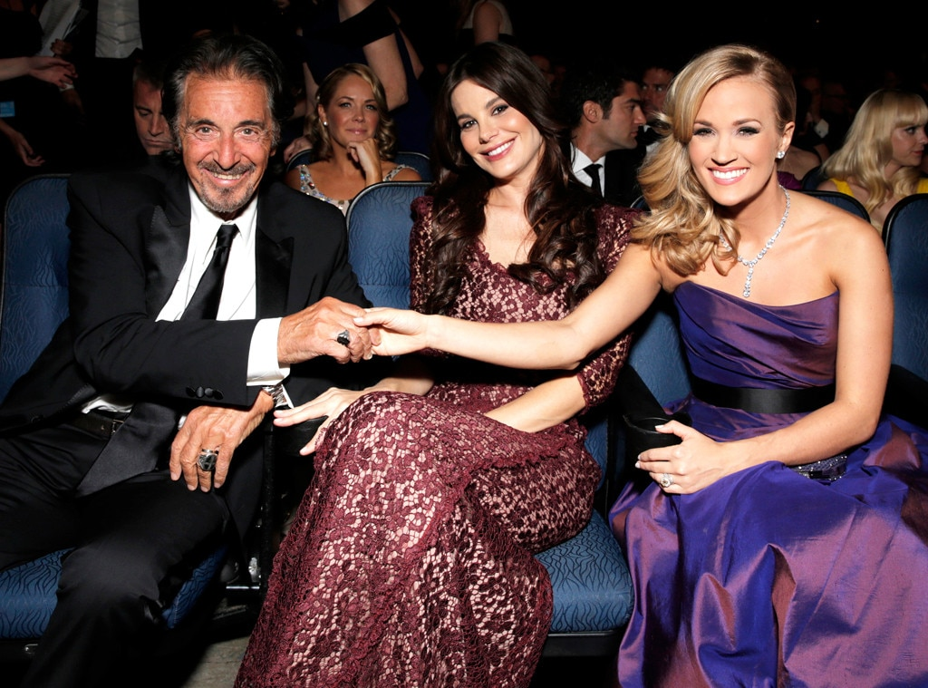 Al Pacino, Lucila Sola, Carrie Underwood, Emmy Awards, 2013, Audience