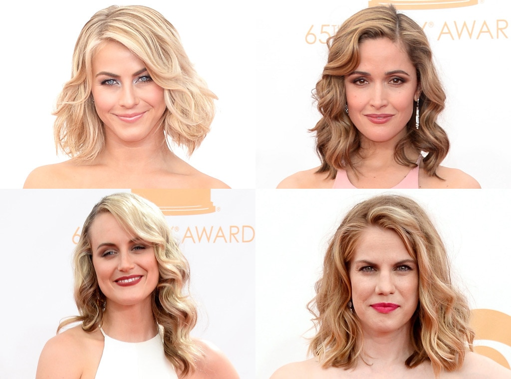 Beach waves, Julianne Hough, Rose Byrne, Anna Chlumsky, Taylor Schilling, Emmy Awards