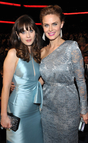 Zooey Deschanel, Emily Deschanel, Emmy Awards, 2013, Audience