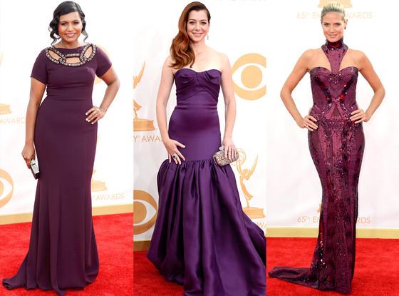 Mindy Kaling, Alyson Hannigan, Heidi Klum, Emmy Awards, 2013