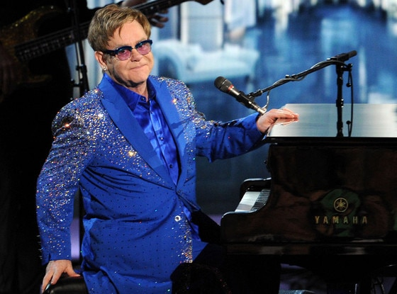 Emmy Awards Show, Elton John