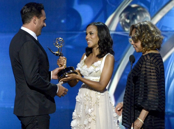 Diahann Carroll, Kerry Washington, Bobby Cannavale, Emmy Awards Show