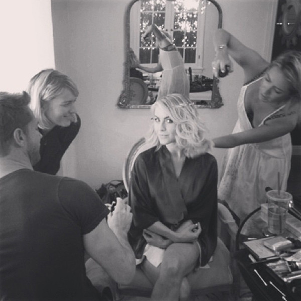 Julianne Hough, Emmy Awards 2013, Instagram, emmy twitpics