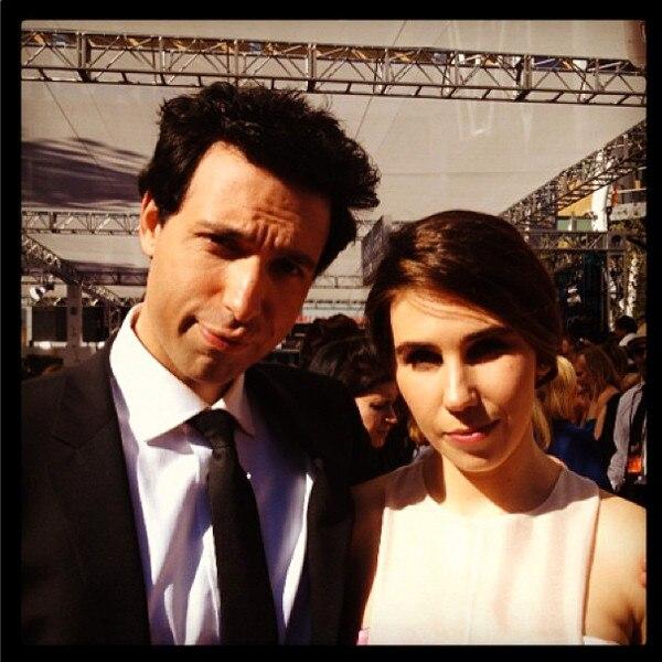 Zosia Mamet, Alex, Karpovsky, Emmy Awards, Instagram