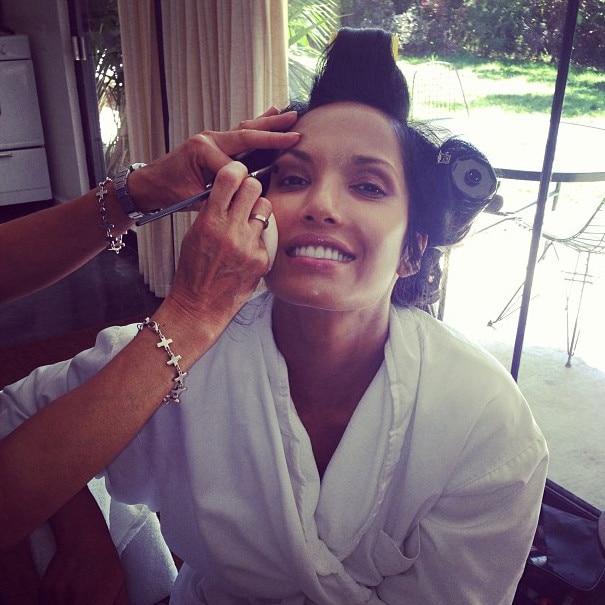 Padmi Lakshmi, Emmy Awards 2013, Instagram